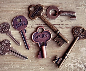 key, love, and secret image