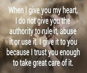 give, rule it, and my heart image