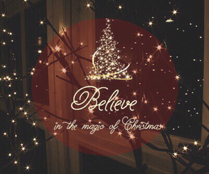 christmas, magic, and believe image