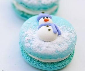 christmas, food, and snowman image