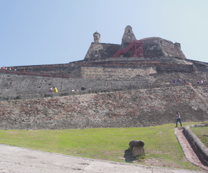 colombia, cartagena, and castillo de san felipe image