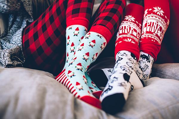 christmas, socks, and style image