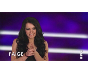 paige, wwe, and total divas image