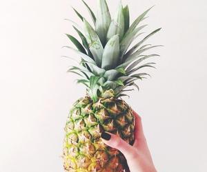 ananas, food, and fruit image