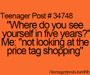 funny and shopping image
