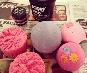 lush, pink, and love image