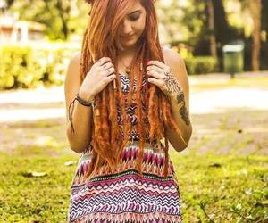 beauty, indie, and dreadlocks image