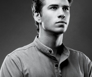 liam hemsworth, gale, and catching fire image