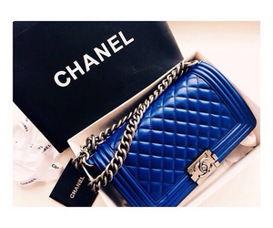 blue and chanel image