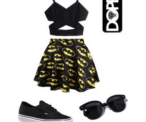 Polyvore, vans, and cute outfits image