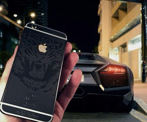 iphone, car, and black image
