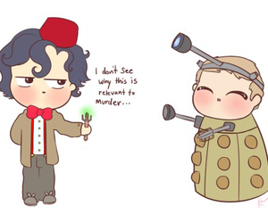Dalek, doctor who, and dw image