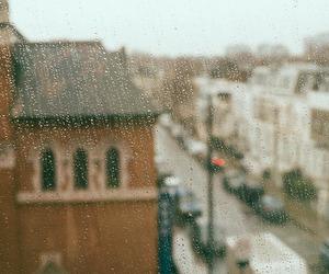 rain, city, and indie image