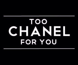 chanel, black, and quotes image