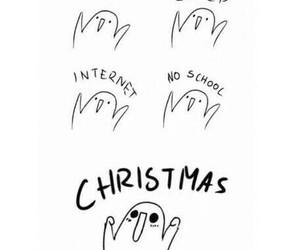 christmas, school, and food image