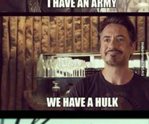funny, Hulk, and Avengers image