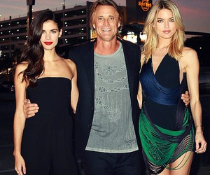 model, Russell James, and martha hunt image