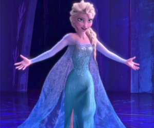 Queen, elsa, and disney image