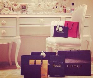 chanel, gucci, and luxury image