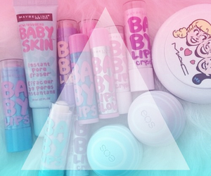 eos, baby lips, and pink image