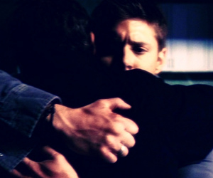 dean winchester, supernatural, and john winchester image