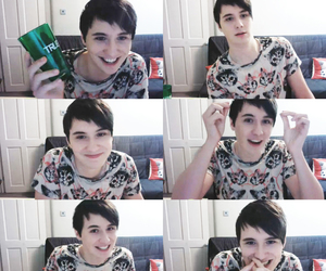 british, danisnotonfire, and youtube image