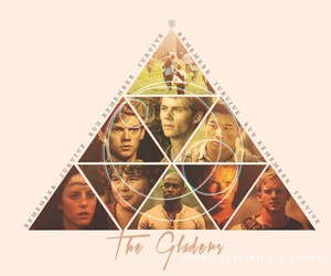 the maze runner, thomas, and the gladers image