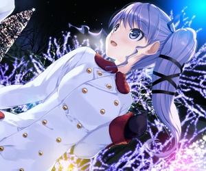 anime and girl image