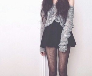 sweater, clothes, and girl image