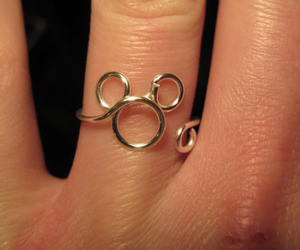 mickey mouse, ring, and cute image