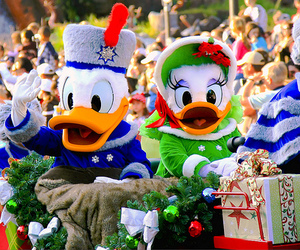 disney, christmas, and donald duck image