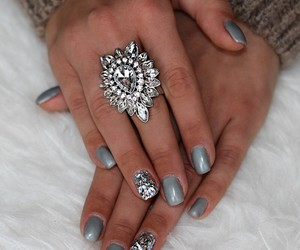 accessories, girly, and grey image