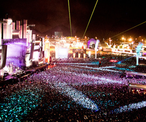 concert, photography, and rock in rio image