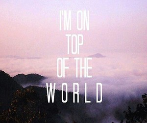 imagine dragons, on top of the world, and song image