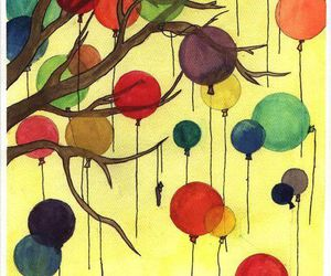balloons and tripping image