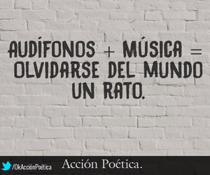 music and audifonos image