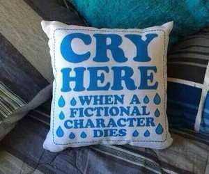 book, cry, and pillow image