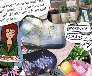 book, Daria, and tumblr image