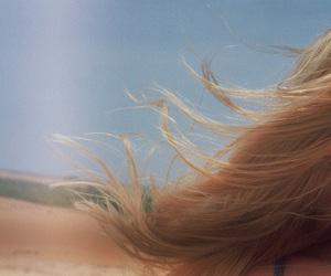 hair, vintage, and beach image