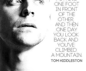 quotes, tom hiddleston, and mountain image