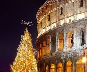 italy, christmas, and christmas tree image
