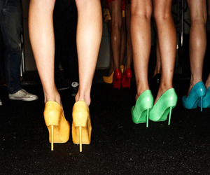 heels and legs image