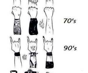 90s, punk rock, and rock image