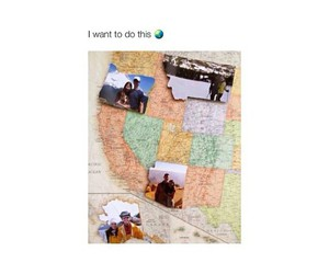 couple, trip, and maps image