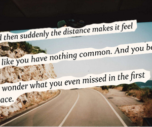 quote, road, and text image