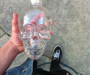 skull, grunge, and vans image