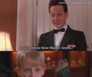 home alone, tv, and life image