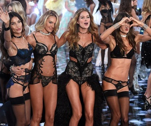 Victoria's Secret, candice swanepoel, and alessandra ambrosio image