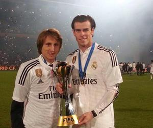real madrid, gareth bale, and luka modric image