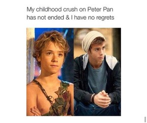 peter pan, crush, and jeremy sumpter image